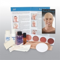 Mehron Bald Cap Makeup Kits
