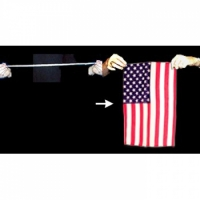 Rope To US Flag Magic Trick