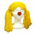 Deluxe Raggedy Ann Wig - Yellow