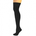 Knee High Nylon Socks - Black
